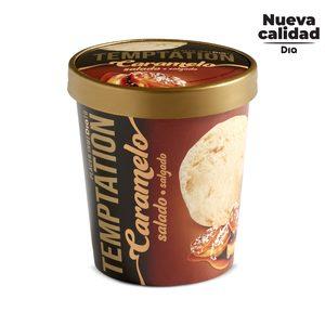 DIA TEMPTATION helado caramelo salado tarrina 350 gr