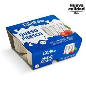 DIA LACTEA queso fresco Natural envase pack 4 uds x 62,5 gr