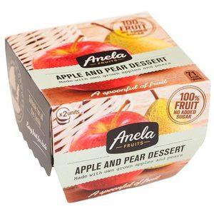 Compota manzana y pera pack 2 x 100 gr