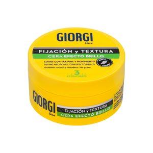 GIORGI LINE cera fijadora efecto brillo extra fuerte tarro 75 ml