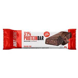 JUST LOADING barrita proteica sabor brownie 35 gr