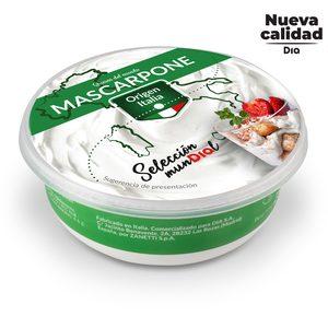 DIA SELECCIÓN MUNDIAL queso mascarpone tarrina 250 gr