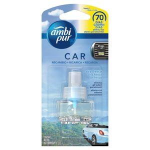 AMBI PUR ambientador para coche aroma aire fresco recambio 1 ud