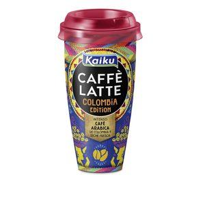 KAIKU Caffé latte Colombia vaso 230 ml