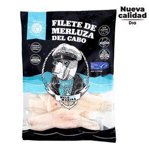 DIA MARI MARINERA filetes de merluza del cabo sin piel bolsa 600 gr